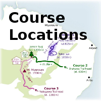 Yakushima Basic Course Map
